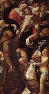PROCACCINI Giulio Cesare Madonna And Child With Saints And Angels