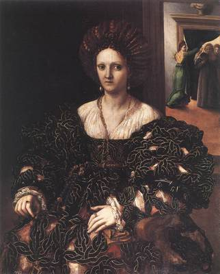 GIULIO ROMANO Portrait Of A Woman