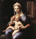 GIULIO ROMANO Madonna And Child