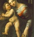 GIULIO ROMANO Virgin With The Child