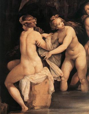 CESARI Giuseppe Diana And Actaeon detail