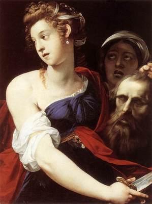 CESARI Giuseppe Judith With The Head Of Holofernes