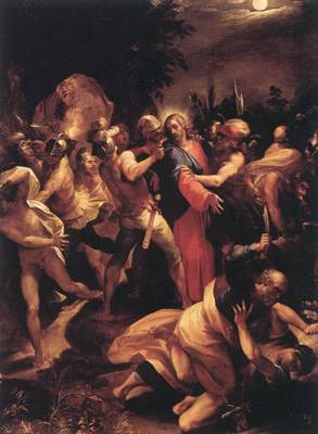 CESARI Giuseppe The Betrayal Of Christ