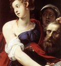 CESARI Giuseppe Judith With The Head Of Holofernes