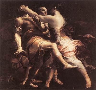 CRESPI Giuseppe Maria Hecuba Blinding Polymnestor
