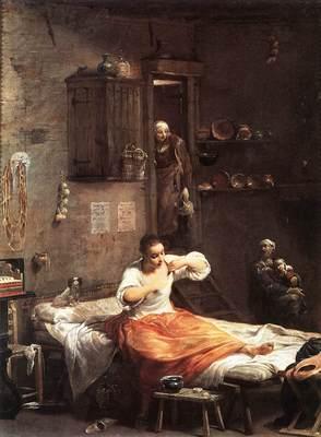 CRESPI Giuseppe Maria Searcher For Fleas