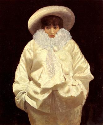 Nittis Giuseppe De Sarah Bernhardt As Pierrot