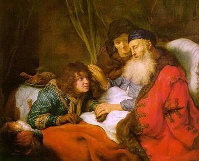 FLINCK Govert Teunisz Isaac Blessing Jacob