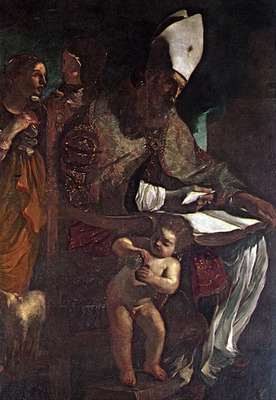 GUERCINO St Augustine