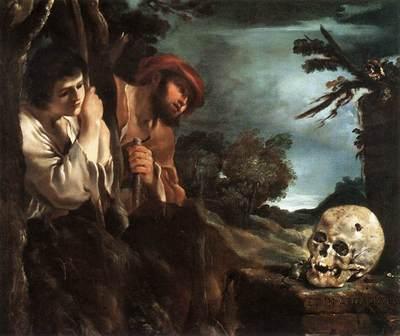 Guercino Et in Arcadia Ego
