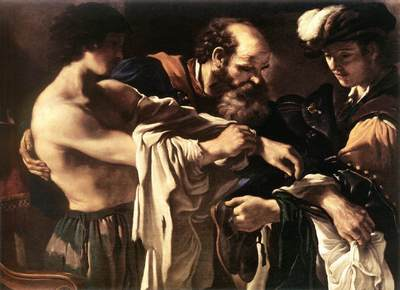 Guercino Return of the Prodigal Son