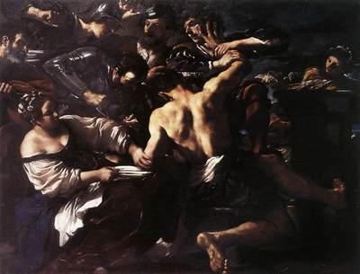 Guercino Samson Captured by the Philistines