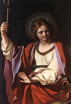 Guercino St Marguerite