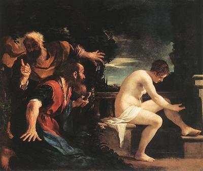 Guercino Susanna and the Elders