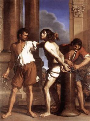 Guercino The Flagellation of Christ