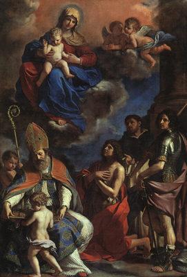 Guercino The Patron Saints of Modena