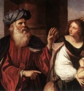 Guercino Abraham Casting Out Hagar and Ishmael