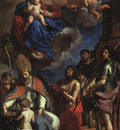 Guercino The Patron Saints of Modena
