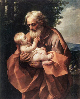 St Joseph with the Infant Jesus WGA
