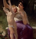 Seignac Guillaume Venus And Cupid