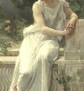 Seignac Guillaume YOUNG WOMAN OF POMPEII ON A TERRACE
