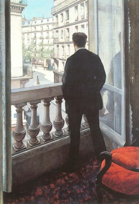 Caillebotte Gustave A Young Man at His Window