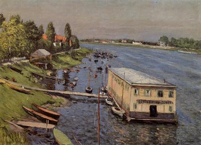 Caillebotte Gustave Boathouse in Argenteuil