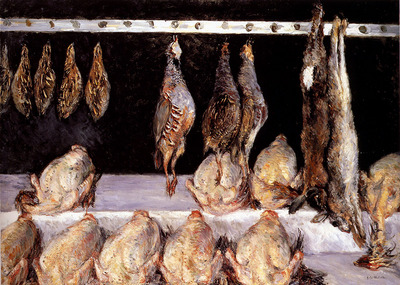 Caillebotte Gustave Display Of Chickens And Game Birds