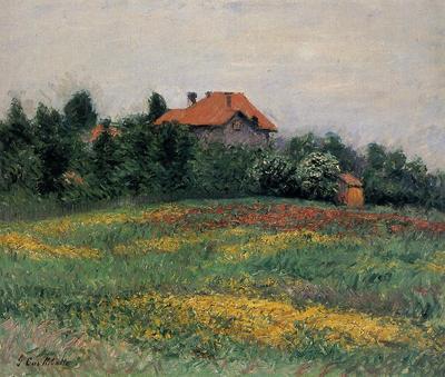 Caillebotte Gustave Norman Landscape