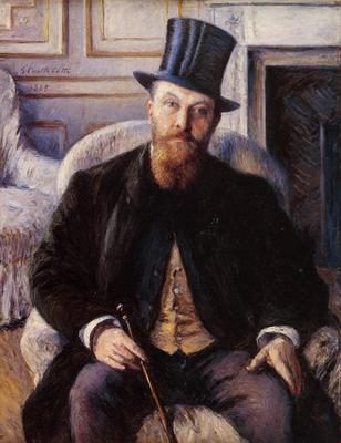Caillebotte Gustave Portrait of Jules Dubois