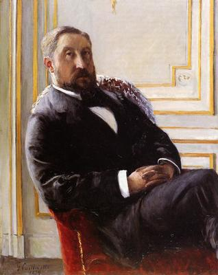 Caillebotte Gustave Portrait of Jules Richemont