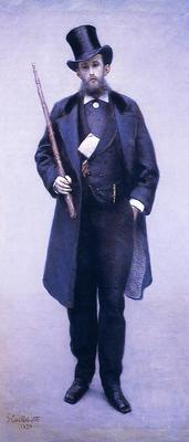 Caillebotte Gustave Portrait of Paul Hugot