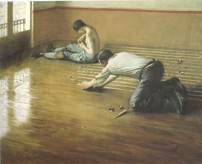 Caillebotte Gustave The Floor Scrapers2