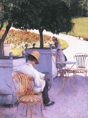 Caillebotte Gustave The Orange Trees