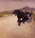 Caillebotte Gustave A Road Near Naples