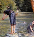 Caillebotte Gustave Bathers