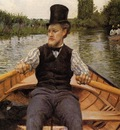 Caillebotte Gustave Boating Party