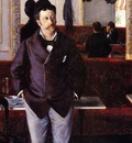 Caillebotte Gustave In a Cafe