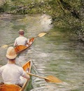 Caillebotte Gustave Perissoires aka The Canoes