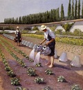 Caillebotte Gustave The Gardenerspg