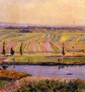 Caillebotte Gustave The Gennevilliers Plain Seen from the Slopes of Argenteuil