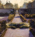 Caillebotte Gustave The Kitchen Garden Yerres