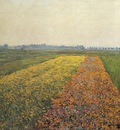 Caillebotte Gustave The Yellow Fields at Gennevilliers