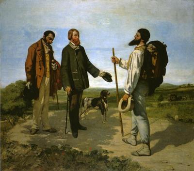Courbet Gustave Bonjour Monsieur Courbet