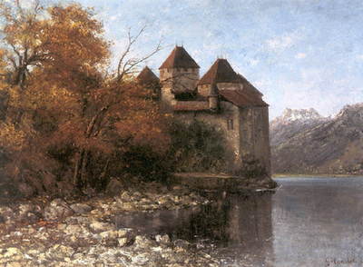 Courbet Gustave Chateau de Chillon