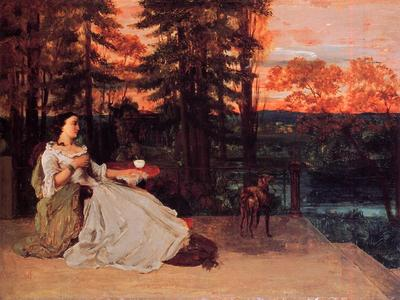courbet gustave the lady of frankfurt gustave courbet