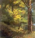 Courbet Gustave Deux Chevre Uils Dans la Foret