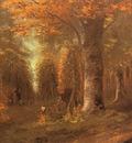 Courbet Gustave La Foret En Automne