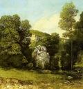 Courbet Gustave La Ruisseau de la Breme