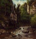 Courbet Gustave Landscape near Puit Noir near Ornans